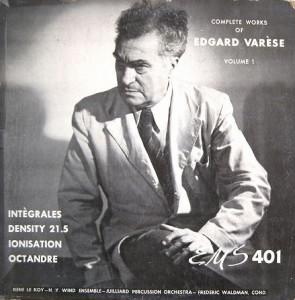 Edgard Varese-Complete Works of, vol 1